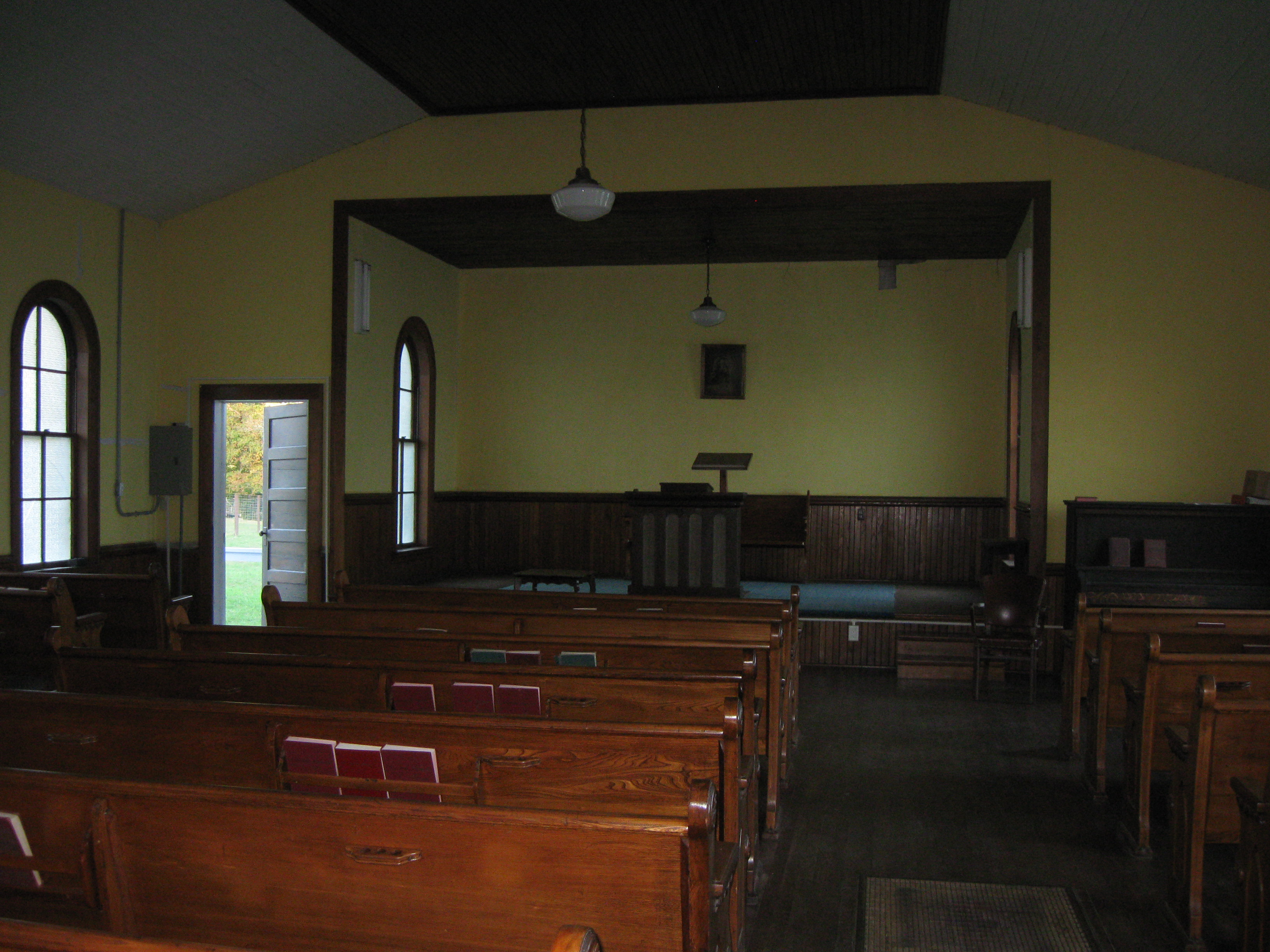 Inside the Church Building